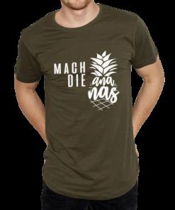 Mach die Ananas T-Shirt Herren