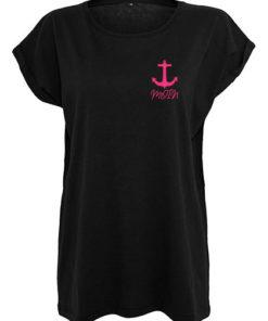 Moin Anker T-Shirt schwarz Frauen