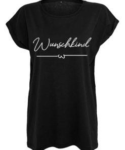 Wunschkind T-Shirt Frauen schwarz