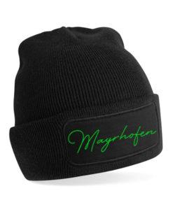 Mayrhofen Mütze schwarz