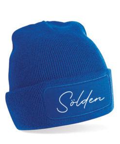 Sölden Mütze blau