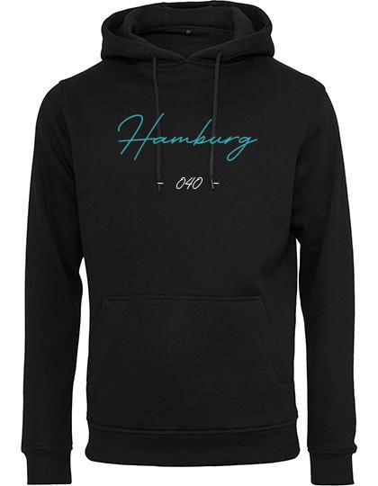 Hamburg Hoodie schwarz