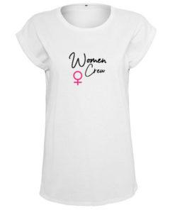 Womens Crew T-Shirt weiss
